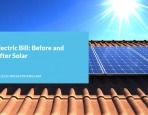 Electric Bill: Before and After Solar