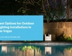 Best Options for Outdoor Lighting Installations in Las Vegas