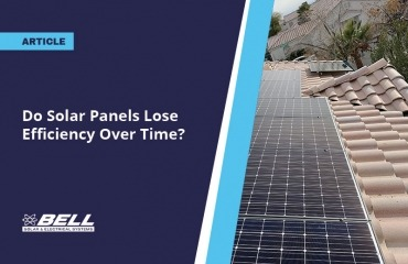 Do Solar Panels Lose Efficiency Over Time?