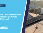 How Does Temperature Affect Solar Panels' Efficiency?