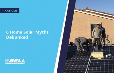 6 Home Solar Myths Debunked