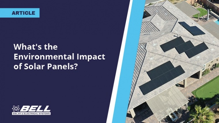 What's the Environmental Impact of Solar Panels?